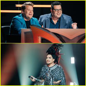 James Corden & Josh Gad Play The Worst 'Masked Singer' Judges Ever with Adam Lambert - Watch!