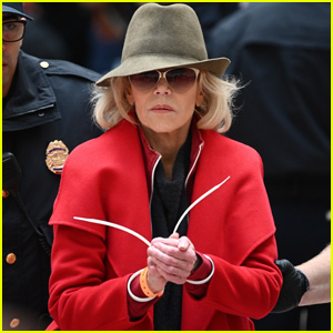Jane Fonda Arrested For Fourth Time During Protest in Washington D.C.