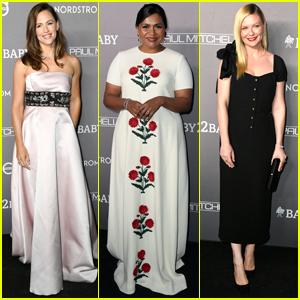 Jennifer Garner, Mindy Kaling, & Kirsten Dunst Go Glam for Baby2Baby Gala 2019