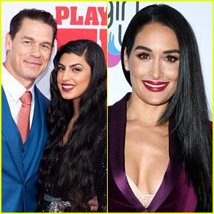 John Cena Reacts to Comparisons Between New Girlfriend Shay & Ex Nikki Bella