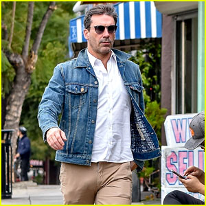 Jon Hamm Steps Out in L.A. After 'Romantic' Night with Lindsay Shookus
