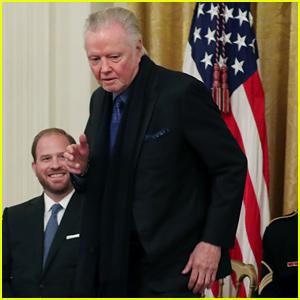 Jon Voight Dances as Trump Awards Him National Medal of Arts