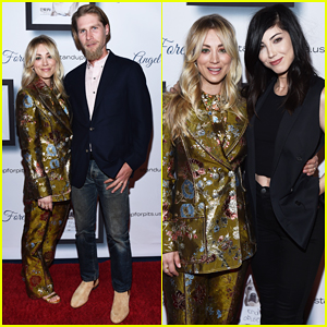 Kaley Cuoco Hosts Stand Up For Pits Gala 2019 with Hubby Karl Cook!