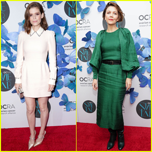 Kate Mara & Maggie Gyllenhaal Co-Host OCRA's Style Lab Fundraiser!