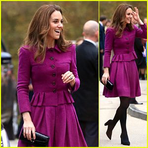 Kate Middleton Meets Families While Attending Opening of Children's Hospice in England