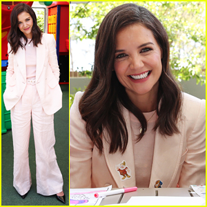 Katie Holmes Arrives In Australia for McHappy Day Charity!