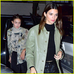 Kendall Jenner, Gigi Hadid & Joan Smalls Have Dinner Together in NYC