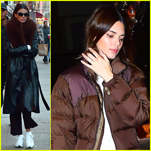 Kendall Jenner Hits The Streets Of New York City
