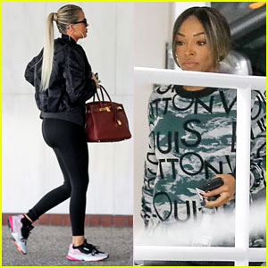 Khloe Kardashian Joins Pregnant BFF Malika Haqq for Doctor's Appointment