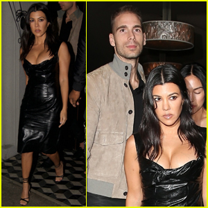 Kourtney Kardashian Celebrates Pal Simon Huck's Birthday in WeHo