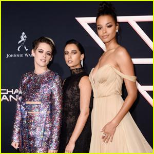 Kristen Stewart, Naomi Scott & Ella Balinska Premiere 'Charlie's Angels' in LA