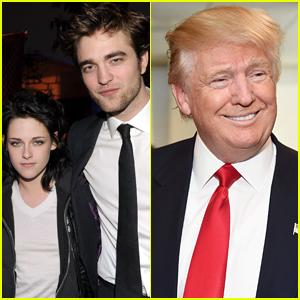 Kristen Stewart Reacts to Donald Trump's Tweet About Her & Robert Pattinson