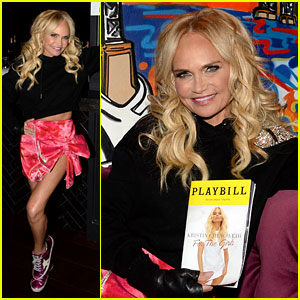 Kristin Chenoweth Celebrates Opening Night of 'For The Girls' on Broadway with Her Parents!