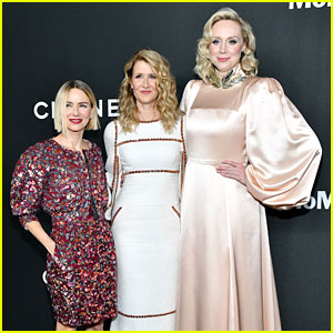 Laura Dern Is Honored by Friends Naomi Watts & Gwendoline Christie at MoMA Event