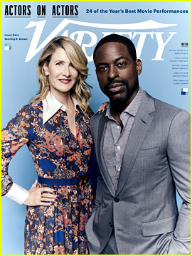 Sterling K. Brown Reveals His First Impression of Laura Dern - Watch!