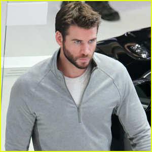 Liam Hemsworth Works on New Show 'Dodge and Miles' in Detroit