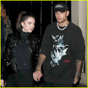 Liam Payne Holds Hands with Girlfriend Maya Henry During a Night Out in London