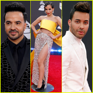 Luis Fonsi, Anitta, & More Attend Latin Grammys 2019!