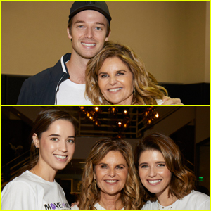Maria Shriver is Supported By Kids Patrick, Christina & Katherine Schwarzenegger at Move for Minds 2019!