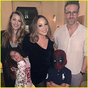 Mariah Carey & Her Kids Meet Ryan Reynolds & Blake Lively!