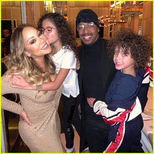 Mariah Carey & Nick Cannon Spend Thanksgiving Together with Their Kids!