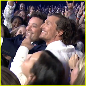 Matthew McConaughey Takes First Instagram Selfie with UT Austin Students on 'Fallon' - Watch!