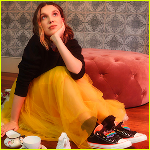 Millie Bobby Brown Launches Three New Styles For Her New Converse Collection