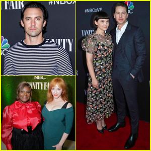 Milo Ventimiglia, Josh Dallas, Christina Hendricks & More Celebrate Holiday Season with NBC & Vanity Fair!