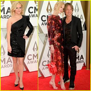 Nicole Kidman & Husband Keith Urban Are Too Cute on CMA Awards 2019 Red Carpet