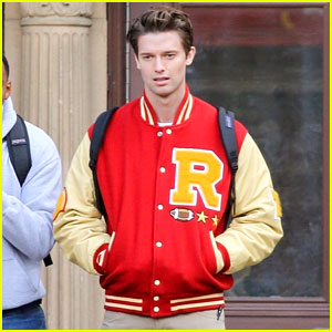Patrick Schwarzenegger Goes Back to High School for Amy Poehler's New Movie!