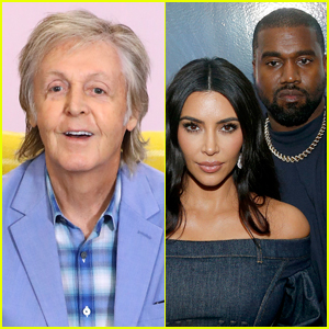 Paul McCartney Talks Meeting Kanye West, Says the Rapper Couldn't Stop Looking at Photos of Kim Kardashian