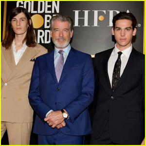 Pierce Brosnan's Sons Dylan & Paris Named Golden Globes Ambassadors 2020!
