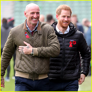 Prince Harry Teams Up With Rugby Star Gareth Thomas to Raise Awareness for National HIV Testing Week