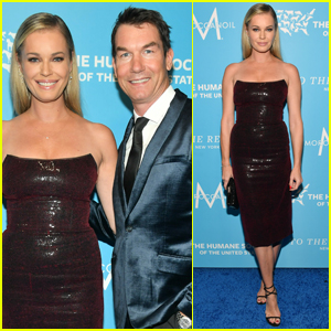 Rebecca Romijn & Jerry O'Connell Couple Up for Humane Society Gala 2019