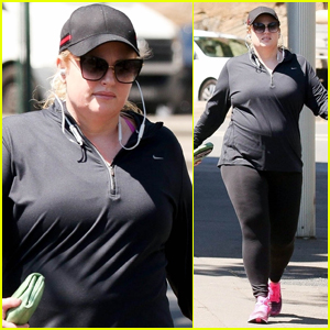Rebel Wilson Kicks Off Her Morning with Workout in Sydney