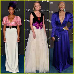 Regina King, Brie Larson, & Cynthia Erivo Arrive in Style for LACMA Gala 2019