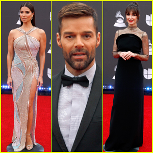 Roselyn Sanchez, Ricky Martin, & Paz Vega Arrive for Hosting Duties at Latin Grammys 2019!