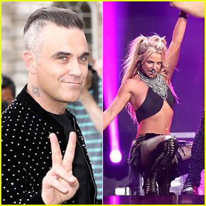Robbie Williams Tried to Get Britney Spears on His Christmas Album
