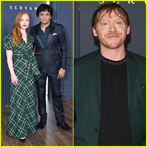 Rupert Grint Joins Lauren Ambrose at 'Servant' Premiere in NYC