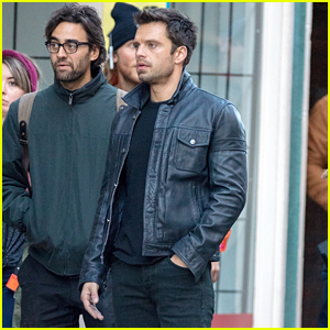 Sebastian Stan Films 'Falcon and the Winter Soldier' in First Set Photos!