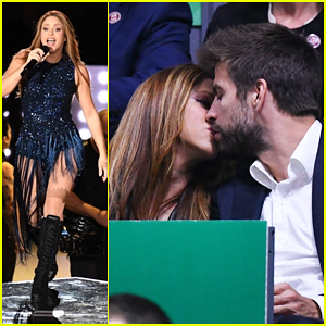Shakira Gets Support From Gerard Pique at Davis Cup Finals Closing Ceremony Performance - Watch Here!