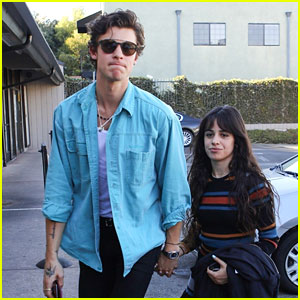 Shawn Mendes & Camila Cabello Grab Sushi with a Friend on Saturday Afternoon