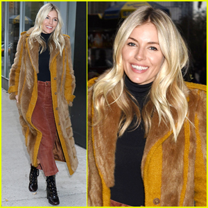 Sienna Miller Steps Out for Screening of 'American Woman' in NYC