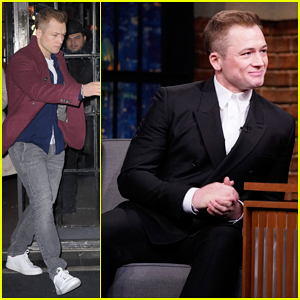 Taron Egerton Reveals That Elton John Gave Him A Drag Name!