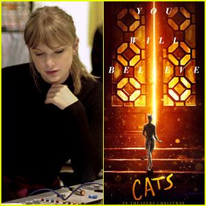 Taylor Swift\u0027s \u0027Cats\u0027 Song \u0027Beautiful Ghosts\u0027 Stream