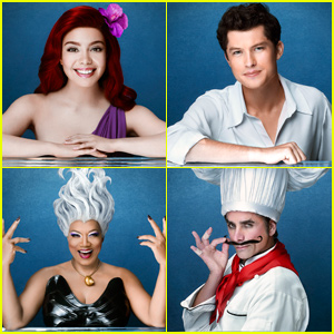 The Little Mermaid Live Full Cast Performers Song List Auli I Cravalho Graham Phillips John Stamos Queen Latifah Shaggy The Little Mermaid The Little Mermaid Live Just Jared