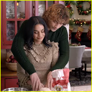 Josh Whitehouse Sweeps Vanessa Hudgens Off Her Feet in 'The Knight Before Christmas' Trailer