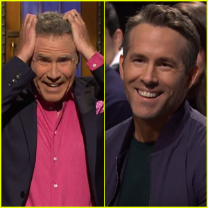 Will Ferrell Gets Starstruck by Ryan Reynolds During 'SNL' Monologue - Watch Now!