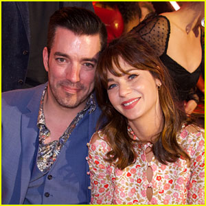 Zooey Deschanel Joined Boyfriend Jonathan Scott at His Brother's Halloween Wedding!