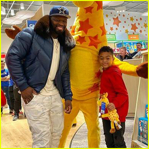 50 Cent Rents Out Entire Toys-R-Us for Son Sire Before Christmas!